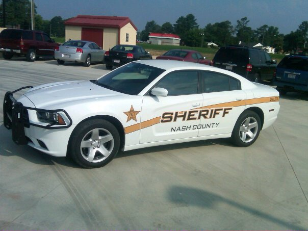 Nash County patrol car